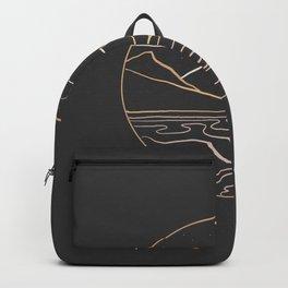 sneak peak at night Backpack