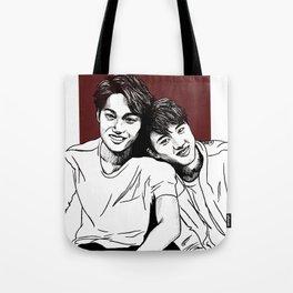 Kai and DO Tote Bag