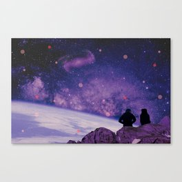 We Are All Connected Canvas Print