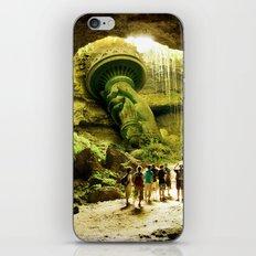 Journey to Lady Liberty iPhone & iPod Skin