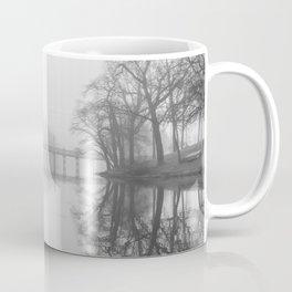 Spring Lake Bridge in the Fog Coffee Mug