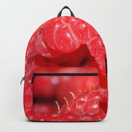 Red Raspberries Freshly Picked Backpack