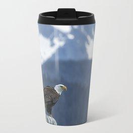 Bald Eagle of Resurrection Bay, No. 1 Travel Mug