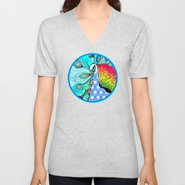 Gypsy Peacock Unisex V-Neck