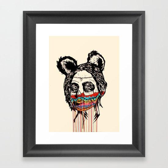 Wonderdam Girl Framed Art Print