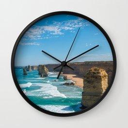 Coastline Retina Beach Wall Clock