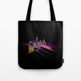 Vibrant City Art 44 Tote Bag