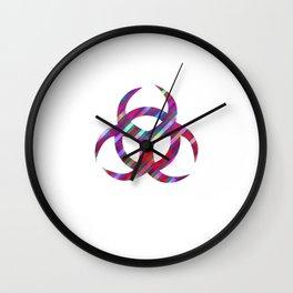 Carbon 14 Wall Clock