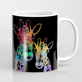 Cosmically Connected Galaxy Giraffes Coffee Mug