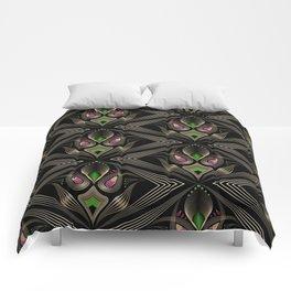 Art Deco 35 . Mystic . Comforters