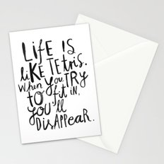 Life is Stationery Cards