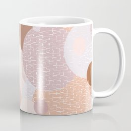 Earth Pastel Bubbles Coffee Mug