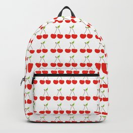 Cherry Pattern Backpack