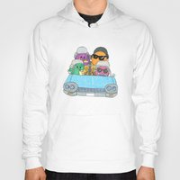 vampire weekend Hoodies featuring Holiday Vampire Weekend by Pily Clix