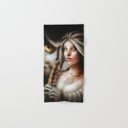 Dreaming Athena Hand & Bath Towel