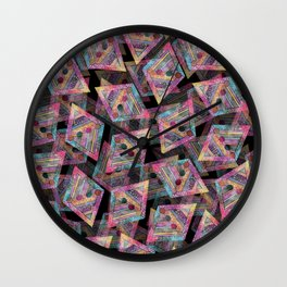 Pattern #6 Wall Clock