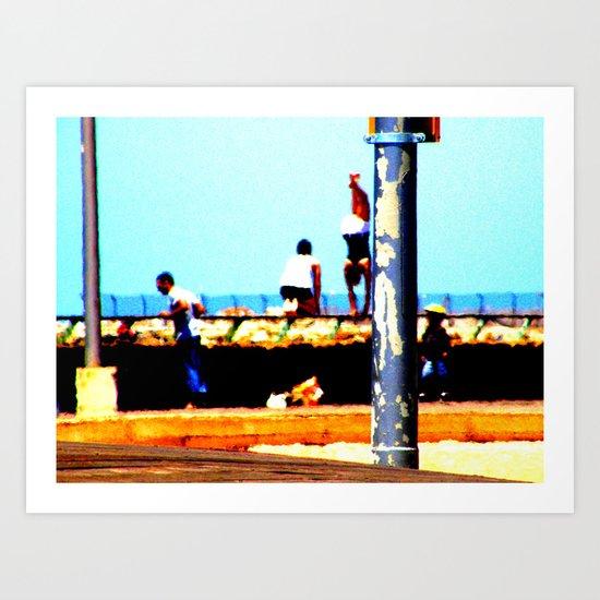 Tel Aviv Port #2 Art Print