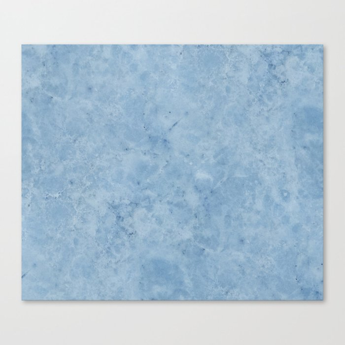 Lento blue marble Canvas Print