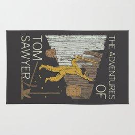 Books Collection: Tom Sawyer Rug