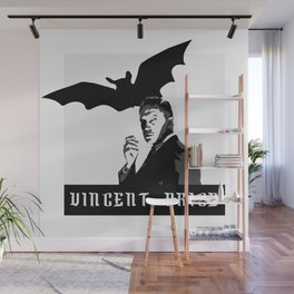 Vincent Price Wall Mural