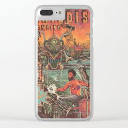 This is American Childish World Tour gambino 24 March 2019 Clear iPhone Case
