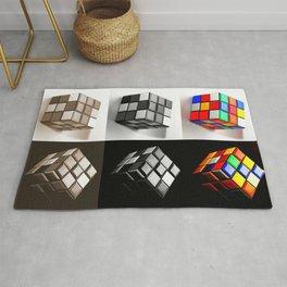 Rubiks Cube Rug