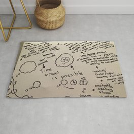 Time Travel Is Possible Rug