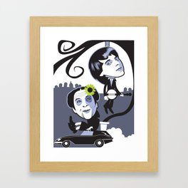 If You Want To Be Dead Be Dead Framed Art Print