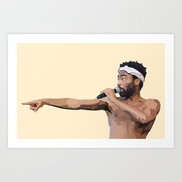 CHILDISH Art Print