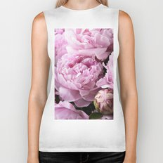 Dream on, Peonies... Biker Tank