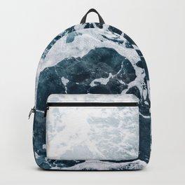 Marble ocean Backpack