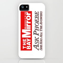 She Has All The Answers iPhone Case