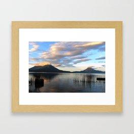 Lago Atitlan Sunrise Framed Art Print