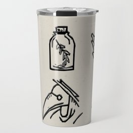 Apothecary Sketches Travel Mug