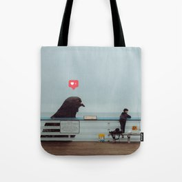 Don't Feed The Birds Tote Bag