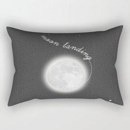 Moon Landing! Rectangular Pillow
