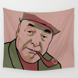 Pablo Neruda Wall Tapestry