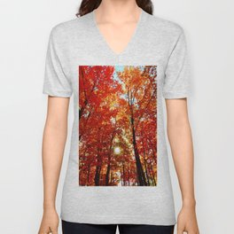 Sun in the Trees Unisex V-Neck