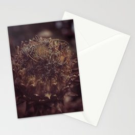 Dead Flower Stationery Cards