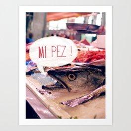 · Mi Pez · Art Print