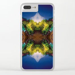 Acid-land. Clear iPhone Case