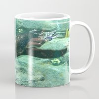 platypus Mugs featuring Platypus by Pippa Selby