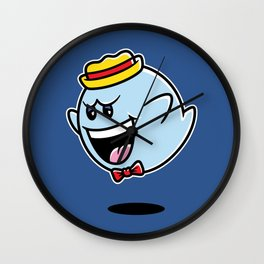 Super Cereal Ghost Wall Clock