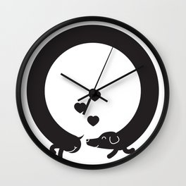 Butt Friends Wall Clock