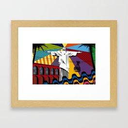 Cristo Redentor Framed Art Print