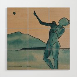 Moon Dance Wood Wall Art