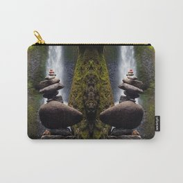Stone Carin, Oneonta Falls, Oneonta Gorge, Oregon Carry-All Pouch