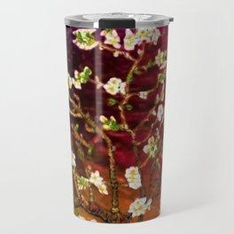 Vincent van Gogh Blossoming Almond Tree (Almond Blossoms) Multi-color Travel Mug