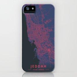 Jeddah, Saudi Arabia - Neon iPhone Case