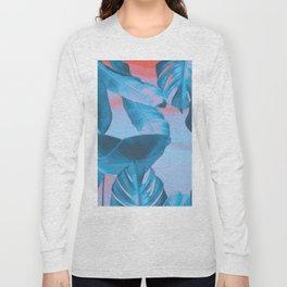 Electric blue botanics (everyday 8/365) Long Sleeve T-shirt